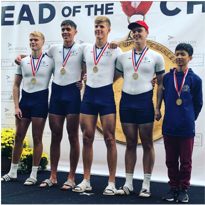Men's Youth 4x+ Champions Henley Rowing Club